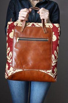Top Handle Leather Tote Bag Shoulder Crossbody strap Fully Lined with  Zipper Multiple pockets Organizer Women s Leather Handbag for Work. Bolsa  ... 72e2e9e989d