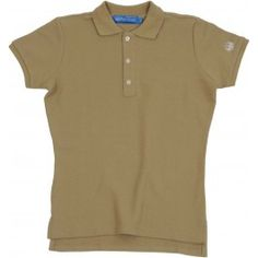 Ladies Plain Polo Shirt - Fawn £65.00- Complete with lock stitched Polistas branded buttons and our traditional classic feminine fit, this 100% cotton pique twill weave polo is the epitome of classic polo style. The Plain Polo is casual enough for the house and stylish enough for the polo field; whether your competing or cheering on your favourite team.