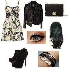 """""""Aria Montgomery Pretty Little Liars Inspired Look"""" by faithleathermanok-1 on Polyvore"""