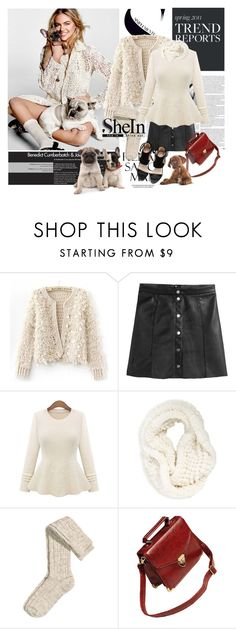 """Shein.com"" by polyandrea ❤ liked on Polyvore featuring Oris, H&M, La Fiorentina, Sheinside and shein"