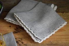 Make beautiful linen napkins at www.nourishandnestle.com