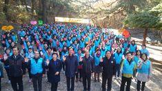 창원시 마산회원구 하나님의 교회는 성도 200여 명이 구내 봉암수원지 일대에 대해 환경정화 활동 및 산불 예방 캠페인을 했다고 26일 밝혔다./마산회원구 하나님의 교회, 환경정화 - 경남매일