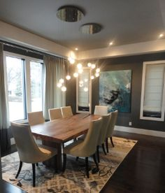 Calgary decorator, dining room