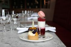 Three of our favourites from the new afternoon tea menu, which takes your fancy?