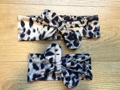 Mommy and Me Matching Headbands -Animal Print Leopard/ urban /Headband /