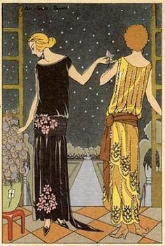 Art Deco Fashion Designs http://sharonscrapbook.blogspot.com/2008/03/art-nouveau-vs-art-deco.html