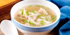 The famous Won ton homemade soup - Recipes - My . - Chinese ravioli soup … The famous Won ton homemade soup – Recipes – My Fork - Top Recipes, Greek Recipes, Asian Recipes, Snack Recipes, Cooking Recipes, Ethnic Recipes, Oriental Recipes, Asian Foods, Yummy Recipes