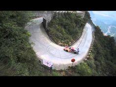 RED BULL DRIFT TIANMENSHAN MOUNTAIN DRIFTING KING Heli-recordings cor.31 - 95 Raw/Preview - YouTube
