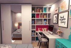 Esse é o novo cantinho de estudos da @anabeatrizhp que mostro no VÍDEO DE HOJE do #diycoreminhacasa 😱 Link na bio 🙌🏻🙌🏻 #estante #diycoreminhacasa #arquitetura #architecture #video #casa #diy #decor #decoração #decoration #decoracion #decorating #quarto #penteadeira #furniture #homedecor #homesweethome #homemade #homestyle #home #homedesign #instalove #instaphoto #instapic #instagood #instalike #instamood #instadecor #instadesign #bedroom