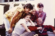 The cast of A Nightmare on Elm Street