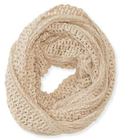Open-Knit Infinity Scarf from Aeropostale