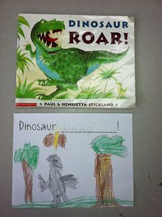 Ms. Solano's Kindergarten Class: Dinosaurs Week 2 & A Snow Day