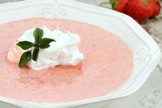kalte Erdbeersuppe