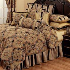 Ravel Medallion Comforter Bedding from Austin Horn Classics