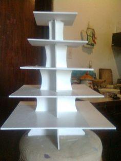 Bases Para Cupcakes Ponquesitos 5 Pisos Reversible