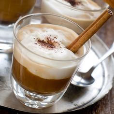 Coffee from another dimension. Horchata, Tea Recipes, Coffee Recipes, Chocolate Tea Recipe, Chocolate Powder, Creamy Sauce, Pudding, Yummy Food, Cooking