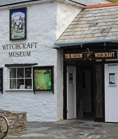 Witches of Boscastle, the Witchcraft Museum, Boscastle, Cornwall, England