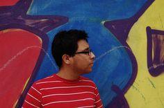 Alfonso y el graffiti.