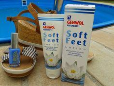 ladylike - schön ab 40: Die neue Soft Feet Lotion mit Wasserlilie und Seide von Gehwol Blog-Review: http://ladylike-nellystories.blogspot.de/2014/06/die-neue-soft-feet-lotion-mit.html