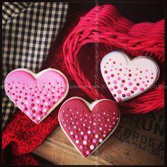 Valentine hearts CookieCrazie Chatter.