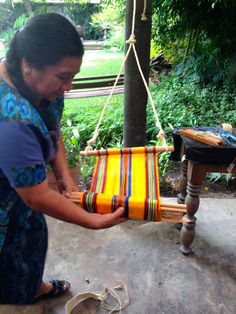 The Language of Weaving: The Back Strap Loom in Guatemala