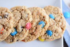 Gluten-Free Monster M&M Cookies