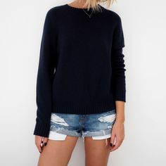 Cashmere boucle jumper: £250, Hush. Denim shorts: £30, River Island. Nail polish: £15, Alexa Leather by Nails Inc It's that time of year, when I climb up into the loft and pull out all my old suitcases full of sweaters, cosy knits and coats. More often than not, I think 'oh that doesn't look too good …