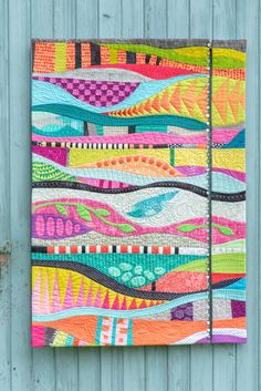 modern quilting designs Spotlight at 40 Quilt Crazy Quilting, Patchwork Quilting, Scrappy Quilts, Crazy Patchwork, Quilting Blogs, Art Quilting, Quilting Fabric, Modern Quilting Designs, Modern Quilt Patterns