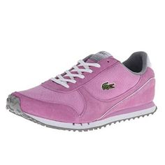 Lacoste Castera NS Women Light Purple  Grey 726SPW10053A5 SIZE 65 ** Visit the image link more details.(This is an Amazon affiliate link and I receive a commission for the sales)
