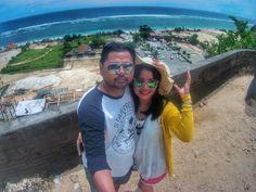 Our first honeymoon @Bali #indonesia #pandawabeach