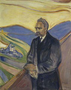 Friedrich Nietzsche | Edvard Munch | 1906