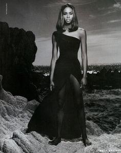 Harper's Bazaar, Naomi Campbell, Matthew Rolston.