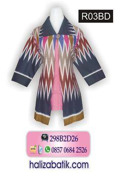 Blus batik rangrang model bolero sambung. Kombinasi kain polos warna pink di  dalamnya! Model lengan 7 8 cocok untuk seragam kantor. Rp 115.000 34993535b7