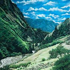 ARTIST INTRO: please welcome our latest #artist from Ecuador Marcelo Villacres Pincay. Discover his amazingly realistic landscapes http://ift.tt/1QyTA5q #art #landscape #loveart #Artistasy