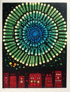Fireworks (B) by Fukita Fumiaki / 火の花(B)吹田文明