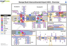Seoul Incheon International ICN Airport Terminal Map Overview