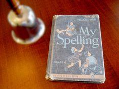 Grade 4 Spelling Book / My Spelling / Forth by RedDressHanger