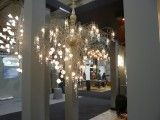 This mass of wires, crystals and filaments from Luminart is one of the more notable light fixtures I've ever seen.