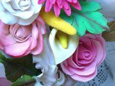 Modelado de flores pasta de goma - gumpaste flowers modelling