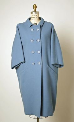 Coat | Cristóbal Balenciaga (Spanish, 1895-1972) | France, 1964 | Material: wool | The Metropolitan Museum of Art, New York
