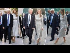 (29692) BREATH-TAKING! The Dress Melania Wore This Evening at the Ancient Greek Theatre of Taormina - YouTube