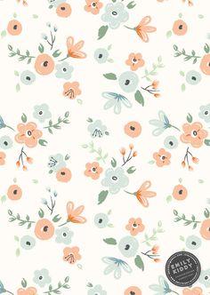 Emily Kiddy: Primavera   Verano 2017 - El Rancho - estampados florales
