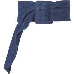 Lisea Denim Waist Belt (€250) ❤ liked on Polyvore featuring accessories, belts, denim, wide belts, denim belt, oversized belt, wide buckle belt and buckle belt