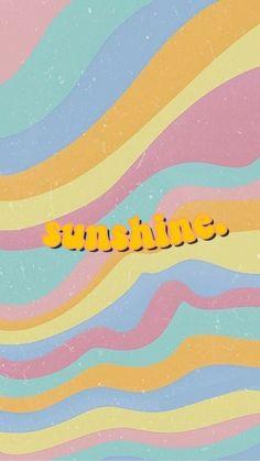 Iphone Wallpaper Tumblr Aesthetic, Iphone Background Wallpaper, Aesthetic Pastel Wallpaper, Tumblr Wallpaper, Aesthetic Wallpapers, Wallpaper Quotes, Retro Wallpaper Iphone, Screen Wallpaper, Phone Wallpapers