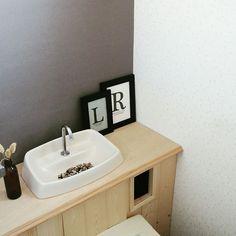 IKEA/ベニア板/SPF材/トイレタンク隠し DIY/トイレ/北欧インテリア…などのインテリア実例 - 2017-03-14 07:17:25   RoomClip(ルームクリップ)