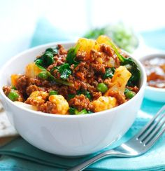 Quorn Recipes perfect for Slimming World  Quorn Mince Curry