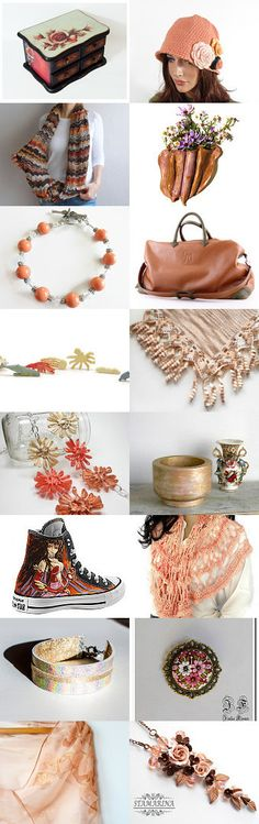 ~ FABULOUS PEACHES ~ by Cappriell McQuiston on Etsy--Pinned with TreasuryPin.com