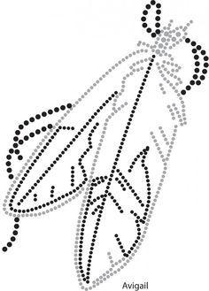 Items similar to Beaded Eagle Feather Buckskin Pipe Bag on Etsy Native Beading Patterns, Beadwork Designs, Beaded Earrings Patterns, String Art Templates, String Art Patterns, Feather Template, Native American Beadwork, Indian Beadwork, Beads And Wire