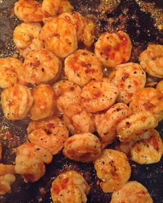 Quick Meals - Fire Shrimp - fresh shrimp (peeled tail-off deveined) seasoned with sea salt fresh cracked black pepper. cooked in a small amount of sesame oil and tossed with chili garlic sauce. bakingwithbooks Follow Make sure to follow cause we post alot of food recipes and DIY  we post Food and drinks  gifts animals and pets and sometimes art and of course Diy and crafts films  music  garden  hair and beauty and make up  health and fitness and yes we do post women's fashion sometimes  and…
