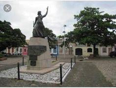 Monumento a Anita Garibaldi - Laguna-  SC- Cidade Histórica.